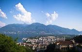 View of Locarno, Switzerland — Stock Photo