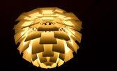 Modern lamp of danish design — Stock Photo