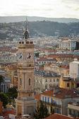 素敵な街鳥瞰図、cote アズ フランス — ストック写真