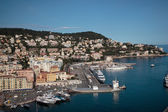 Harbor in Nice, France — Stockfoto