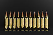 Rifle Bullets — Stock Photo