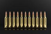 Rifle Bullets — Stock Photo