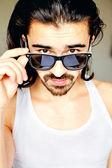 Guy in sunglasses — Stock Photo