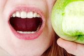 Dentes saudáveis — Foto Stock