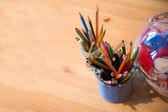 ことができますに配置先のとがった鉛筆で表示します。 — ストック写真