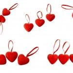 Hearts with lock — Stock Photo #19253445