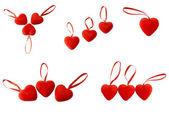 Hearts with lock — Stock Photo