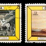 Postage stamp — Stock Photo #19973837