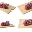 The fresh red grapes — Stock Photo