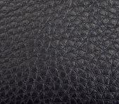 Textura de couro preto — Fotografia Stock