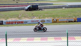 Motorcycle races — Stockfoto
