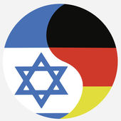 Israel and Germany — Stock Photo
