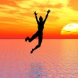 I believe I can fly — Stock Photo