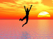 Creo que puedo volar — Foto de Stock