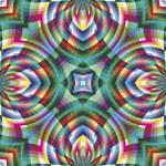 Seamless arabesque mosaic in art deco style — Stock Vector #13863695