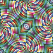 Dikişsiz Arabesk mosaic art deco tarzında — Stok Vektör