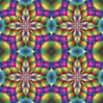 Seamless arabesque mosaic in art deco style — Stock Vector #14651017