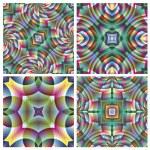 Set of seamless arabesque vector pattern — Stock Vector #14720313