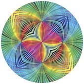 Roue chromatique vector — Vecteur