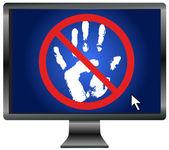 Proteger su privacidad — Foto de Stock