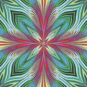 Lotus vector pattern — Stock Vector
