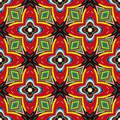 African textile design — Stock Vector