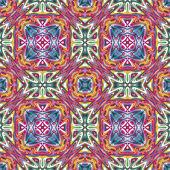 Mexican Textile Design — Stock Vector