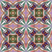 Art nouveau tile — Stock Vector