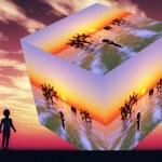 futuristik vizyonu — Stok fotoğraf #27260459