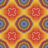 Funky pop art disco pattern — Stock Vector