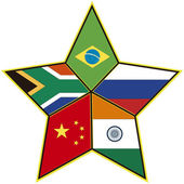 BRICS — Stock Photo