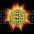 Stock Photo: Stress and Heart Attack