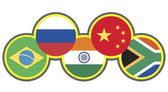 BRICS Symbol — Stock Photo