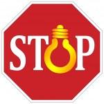 Stop using light bulbs — Stock Photo #38301433