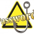 Protect your password — Stock Photo #38603029