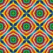 Stock Photo: Inditribal pattern