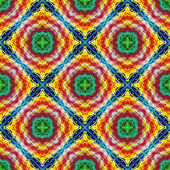 Indian tribal pattern — Stock Photo