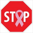 Stock Photo: Stop breast cancer through screening