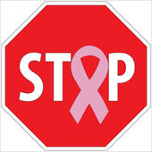 Stop breast cancer through screening — 图库照片