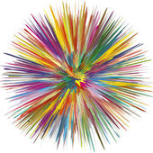 Colorful Explosion — Stock Vector
