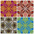 Stock Vector: AfricPattern Set