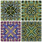 Mediterranean Style Tile Pattern — Stock Vector