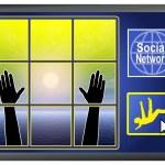 Постер, плакат: Social Network Depression