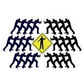 Conflict Solving Concept through Mediation — Stock Photo