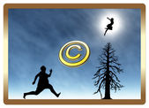 Protect your Copyright — Foto Stock