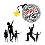 Divorce Battle — Stock Photo #46612425
