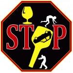 Постер, плакат: Stop drunk driving