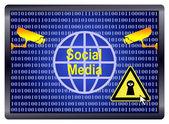 Social Media Spy — Stock Photo