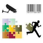 Logistics Security — Stock Photo