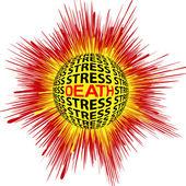 Cardiac Death through Stress — Foto Stock
